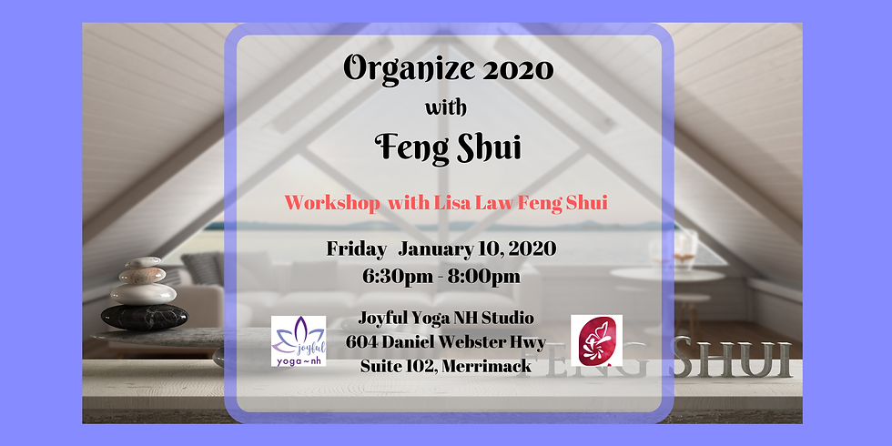 Organize 2020 with Feng Shui