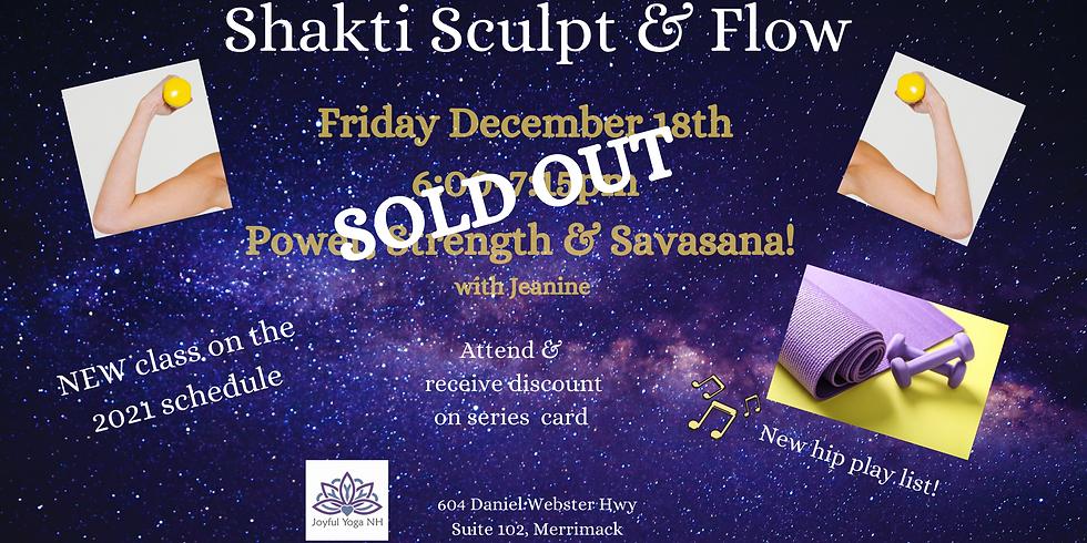 Shakti Sculpt & Tone Intro Class
