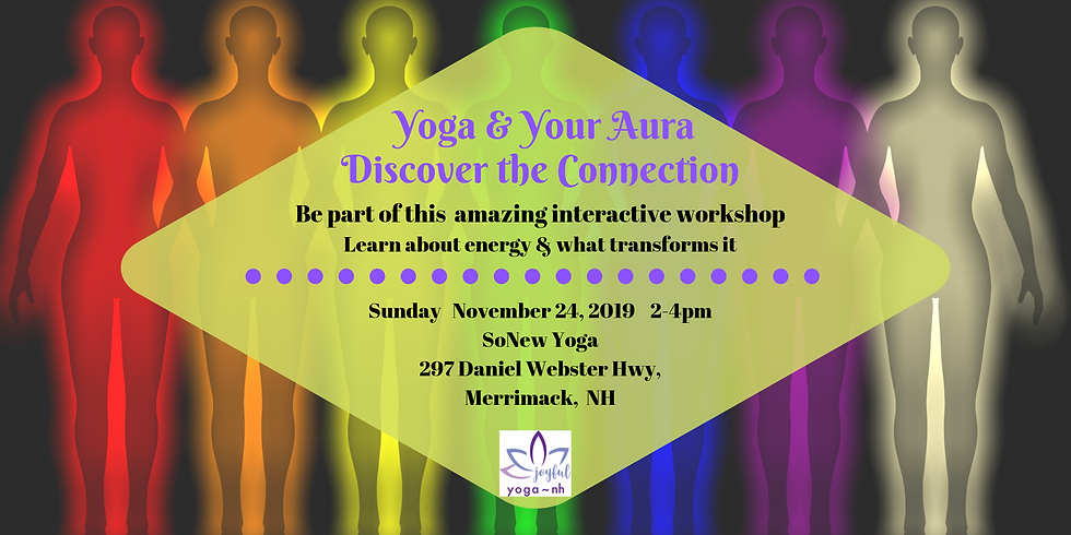 Yoga & Your Aura, Discover the Connection