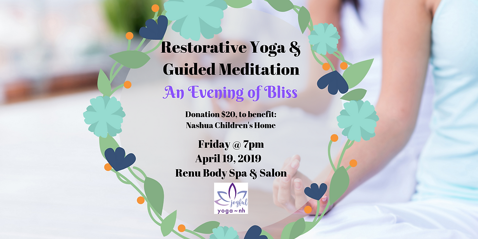 Restorative Yoga Donation Class