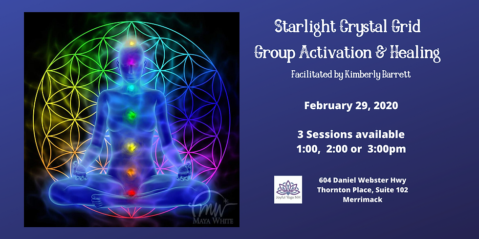 Crystal Grid Group Healing Sessions