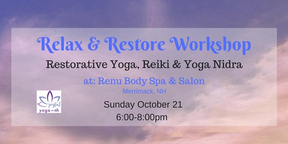 Relax & Restore Workshop