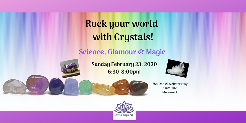 Rock your world with Crystals!