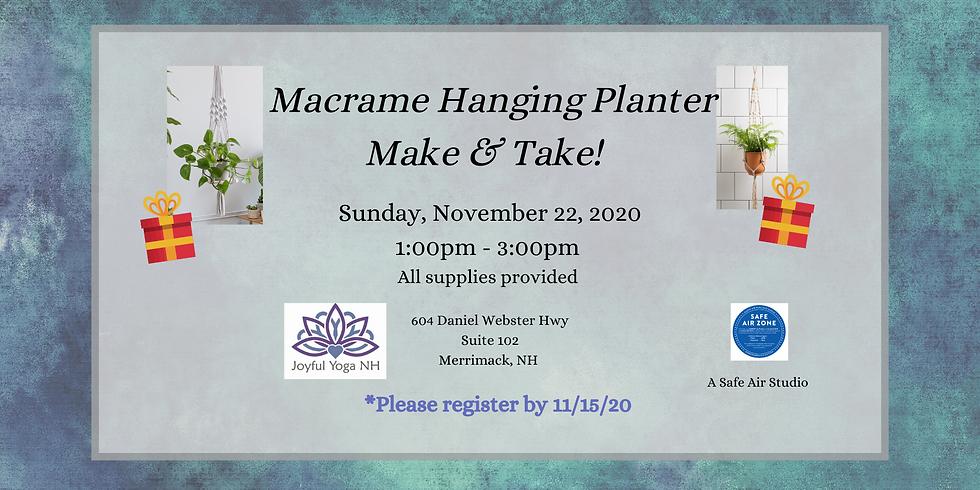Macrame Make & Take