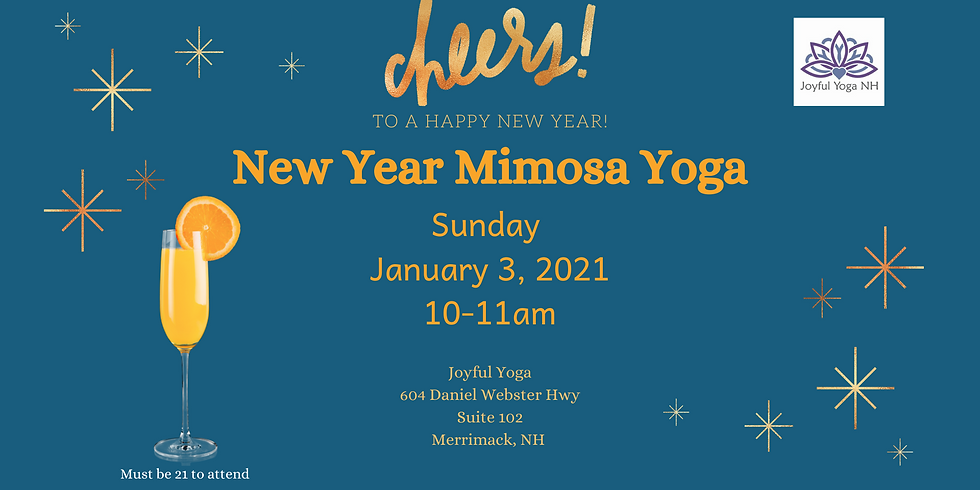 Mimosa Yoga Cheers to 2021!
