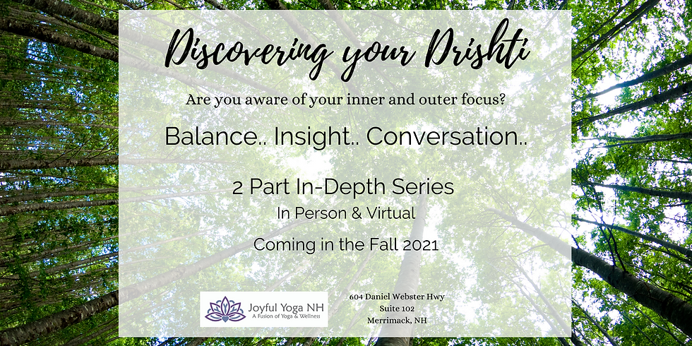 Discovering your Drishti