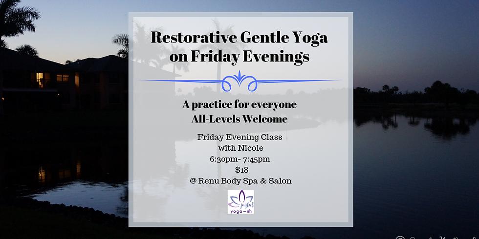 Restorative Gentle Friday Night Yoga