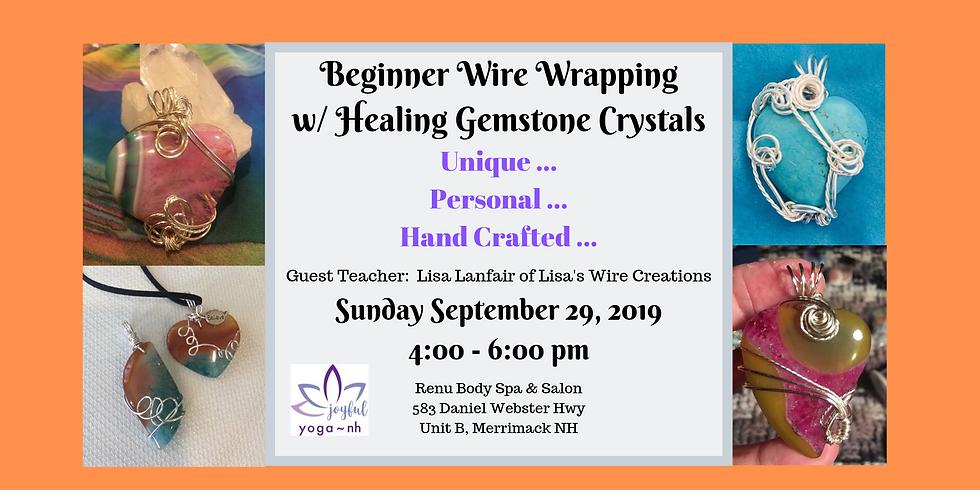 Wire Wrap Your Own Unique Gemstone Pendant