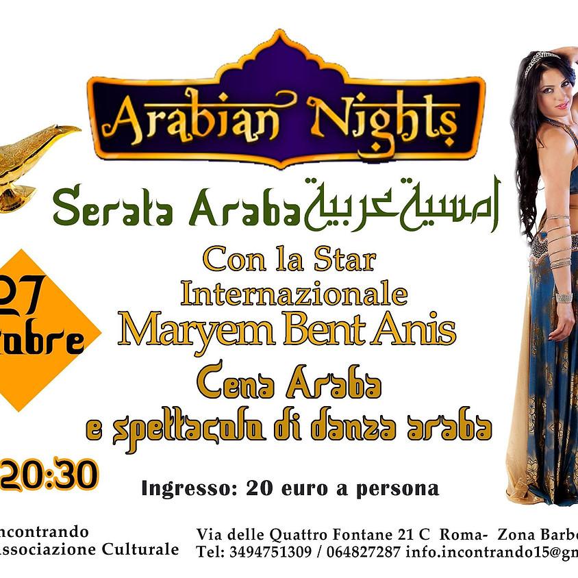 Arabian Night - Cena e Spettacolo