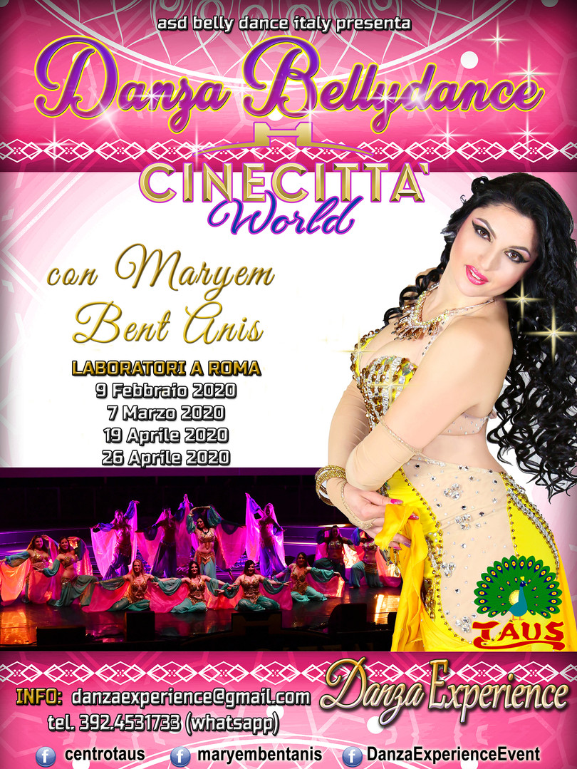 Danza Belly Dance con Maryem Bent Anis