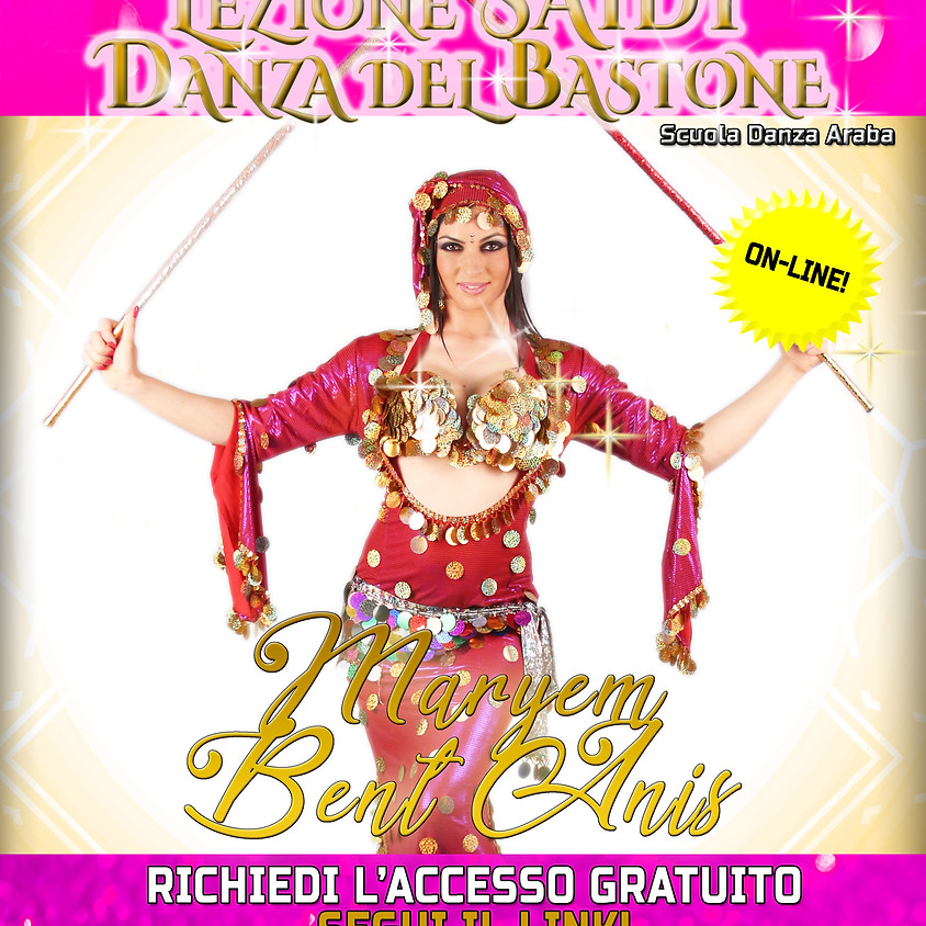 Lezione Saidi - Danza del Bastone Online - FREE! Italiano