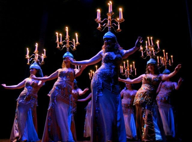 Danza del Candelabro, Shamadan