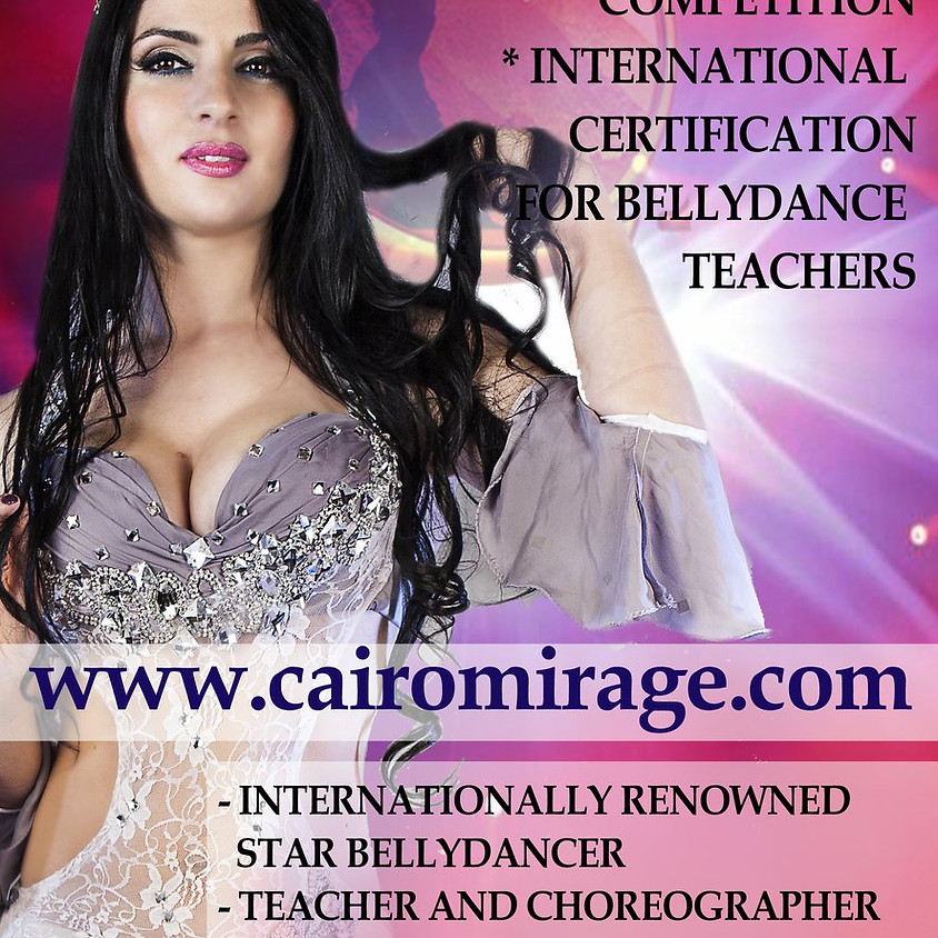 Maryem Bent Anis Star in Russia, Cairo Mirage