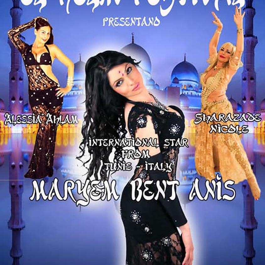 Workshops Tunisian Folk Dance and Tarab Oriental Dance - Rome