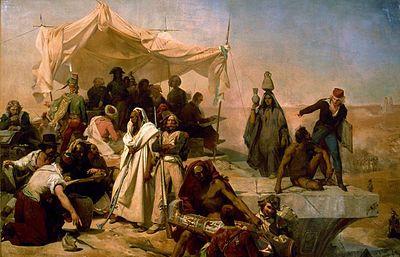 """Leon Cogniet """"Expedition Egypte Sous Les Ordres De Bonaparte"""""""