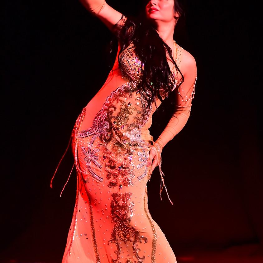 Lezione Danza del Ventre dimostrativa Principianti - Marino