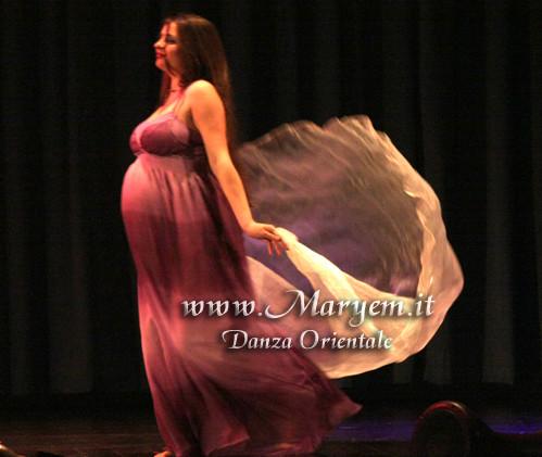 Maryem Bent Anis - Danza del Ventre in Gravidanza