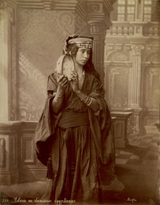 Almee ou danseuse egyptienne - Felix Bonfils