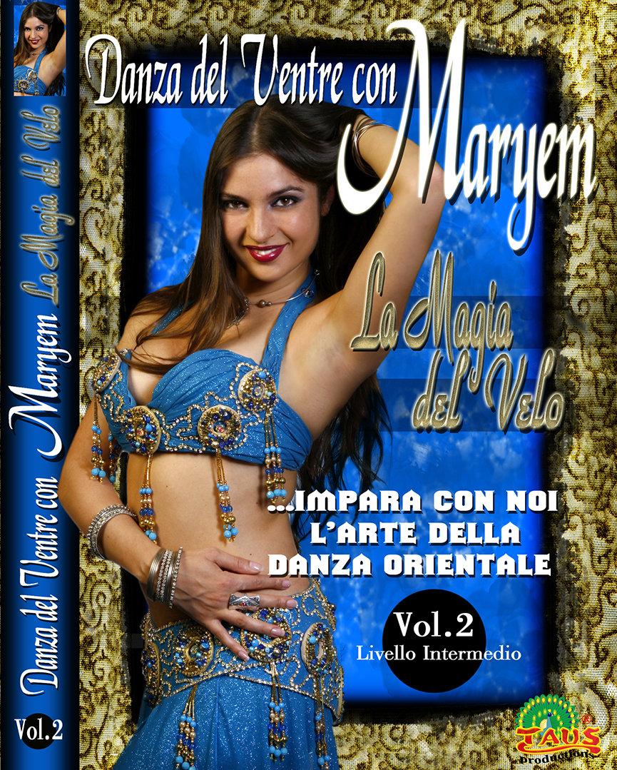 Dvd Danza del Ventre, Videocorso danza Orientale, Maryem Bent Anis, Lezioni on-line