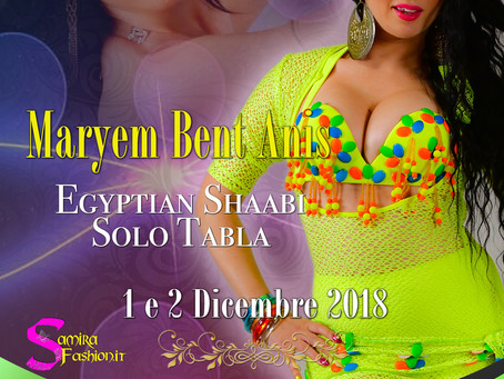 Maryem Bent Anis a Padova, 2 Dicembre 2018