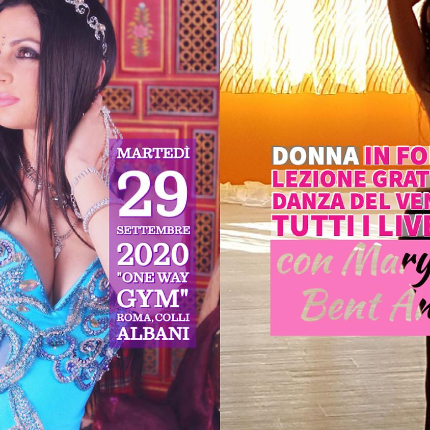 Lezione Gratuita Danza del Ventre Roma - 29 Settembre 2020
