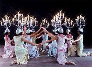 Danza del Candelabro