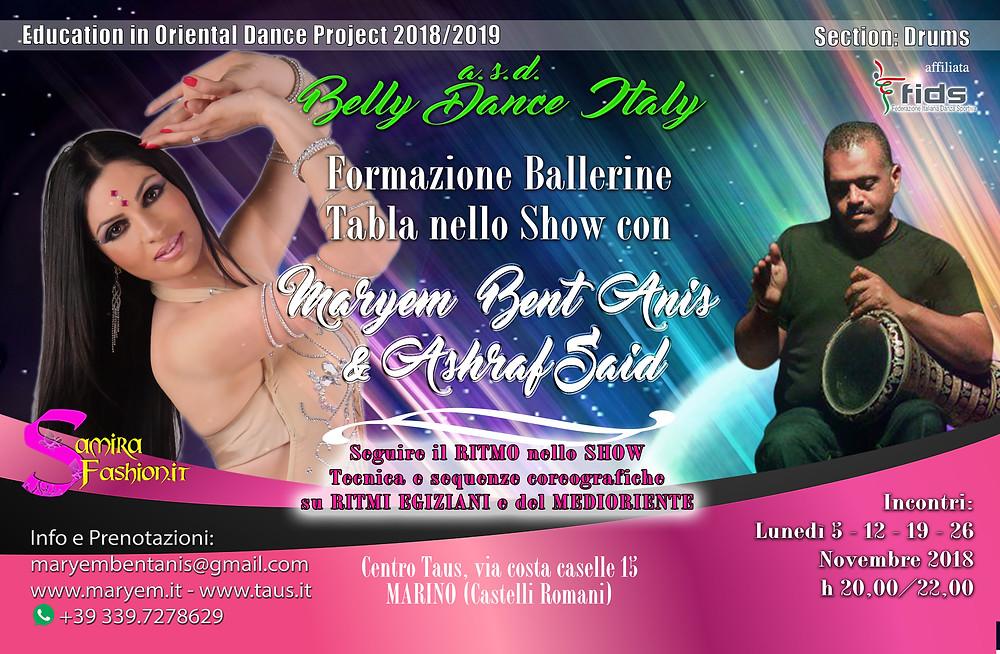 asd Belly Dance Italy