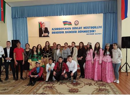 В азербайджанском городе Ширване прошел региональный тур Олимпиады по русскому языку. Фоторепортаж