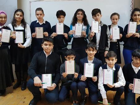 Республиканская Олимпиада по русскому языку в Азербайджане: прошли еще два тура. Фоторепортаж
