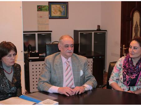 В Баку состоялось очередное заседание Методического центра русского языка Российского информационно-