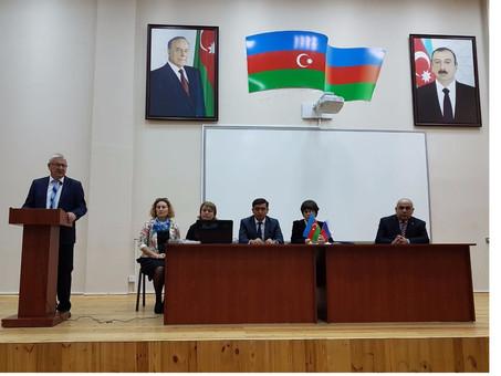 В Шамкире состоялся семинар для учителей русского языка школ пяти районов Азербайджана. Фоторепортаж