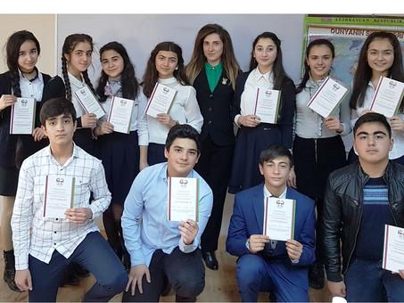 Региональные туры республиканской Олимпиады по русскому языку прошли в городах Агстафе, Шамкире и Гя