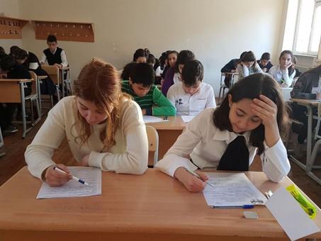 В Азербайджане стартовала юбилейная Х республиканская Олимпиада по русскому языку и литературе. Фото