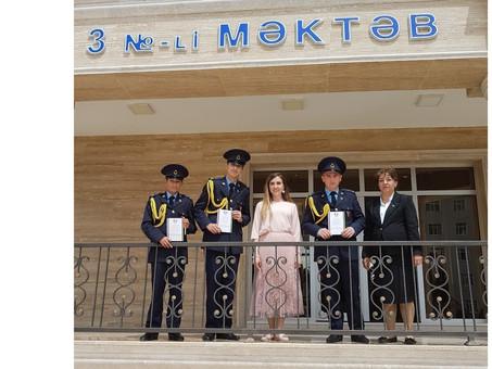 В Нахичевани прошел очередной тур Олимпиады по русскому языку и литературе. Фоторепортаж