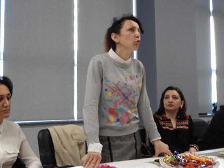Семинар Учебно-методического центра русского языка РИКЦ прошел в школе-лицее № 20 города Баку