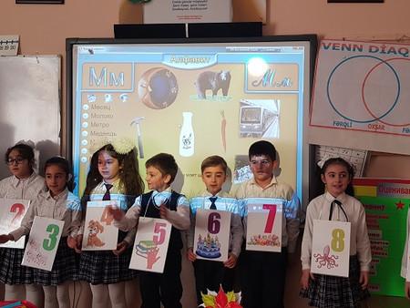Поурочный план урока,  проведенного во 2 а классе средней школы № 95 имени  А. Магеррамова  по теме: