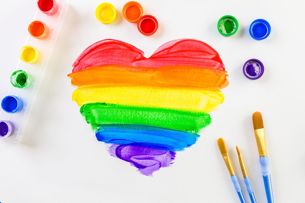 Rainbow Crafts, St. Patrick's Day Crafts, Rainbows, Rainbow Decor, Rainbow Party, Rainbow Games, Rainbow Ideas for Kids, St. Patrick's Day Party Ideas
