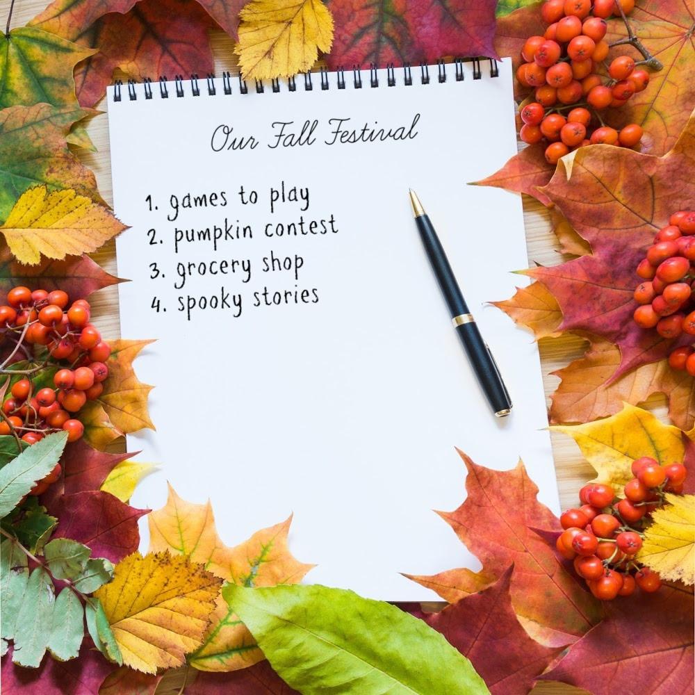 Fall Planning / Fall Festival / Fall Festival Checklist