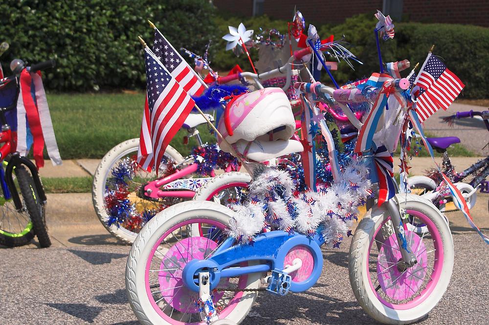 Fourth of July Bike Parade / Car Parade / Fourth of July / Fourth of July Parade