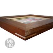 Mahogany & Maple Frame