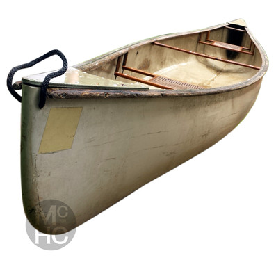 Canoe Before Restoration