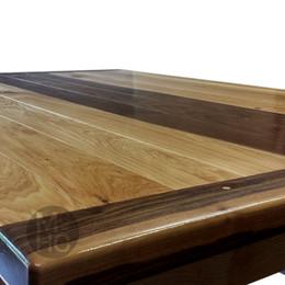 Maple & Walnut Dining Table