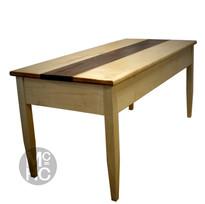 Maple & Walnut Coffee Table