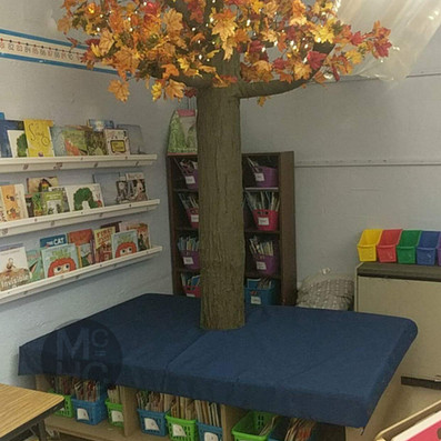 Classroom Reading Bench