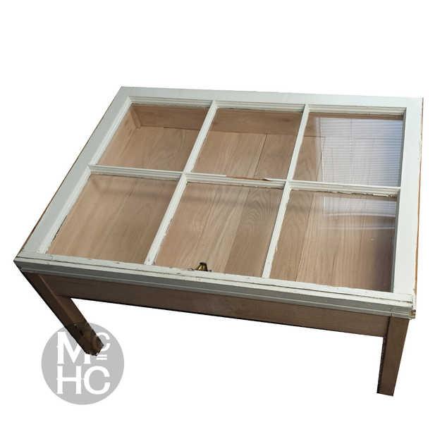 Window & Oak Coffee Table
