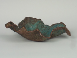 Shallow Turquoise Bowl