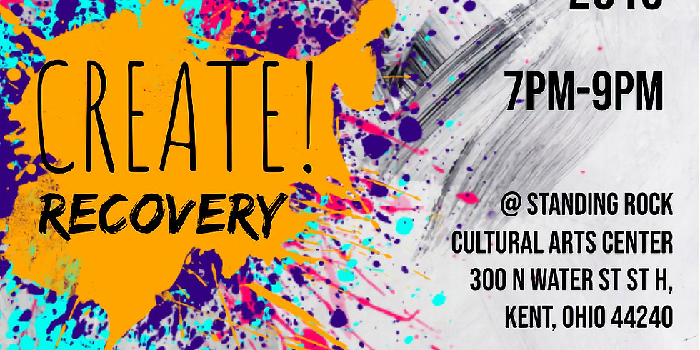 Create! Recovery Presents: Paint Night!