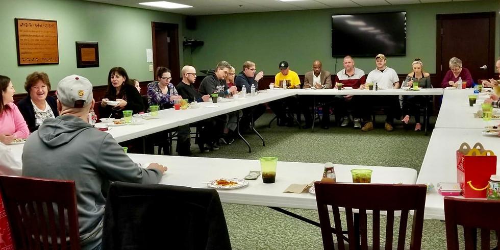 Recovery Fellowship Dinner