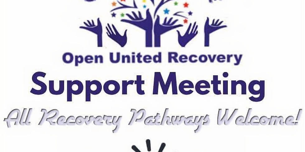 Saturday Open United Recovery Support Meeting   (1)
