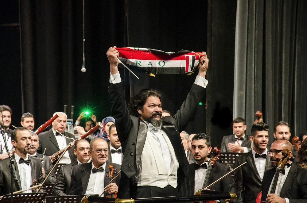 Karim Wasfi with Iraqi National Symphony Orchestra